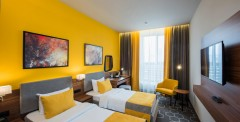 двухместный номер с двумя кроватями в Москве