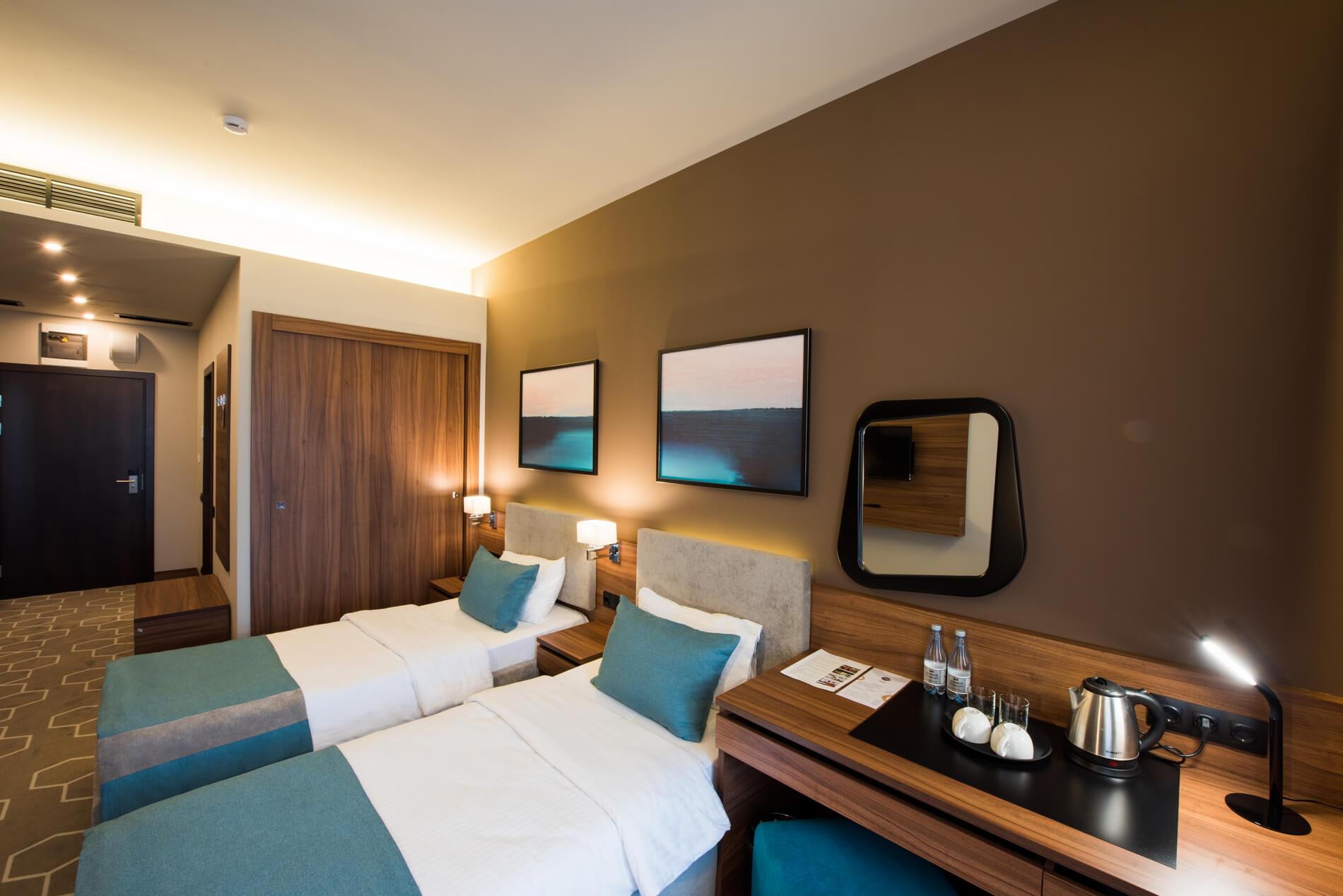 двухместный номер с двумя кроватями Бизнес-отель «1905»